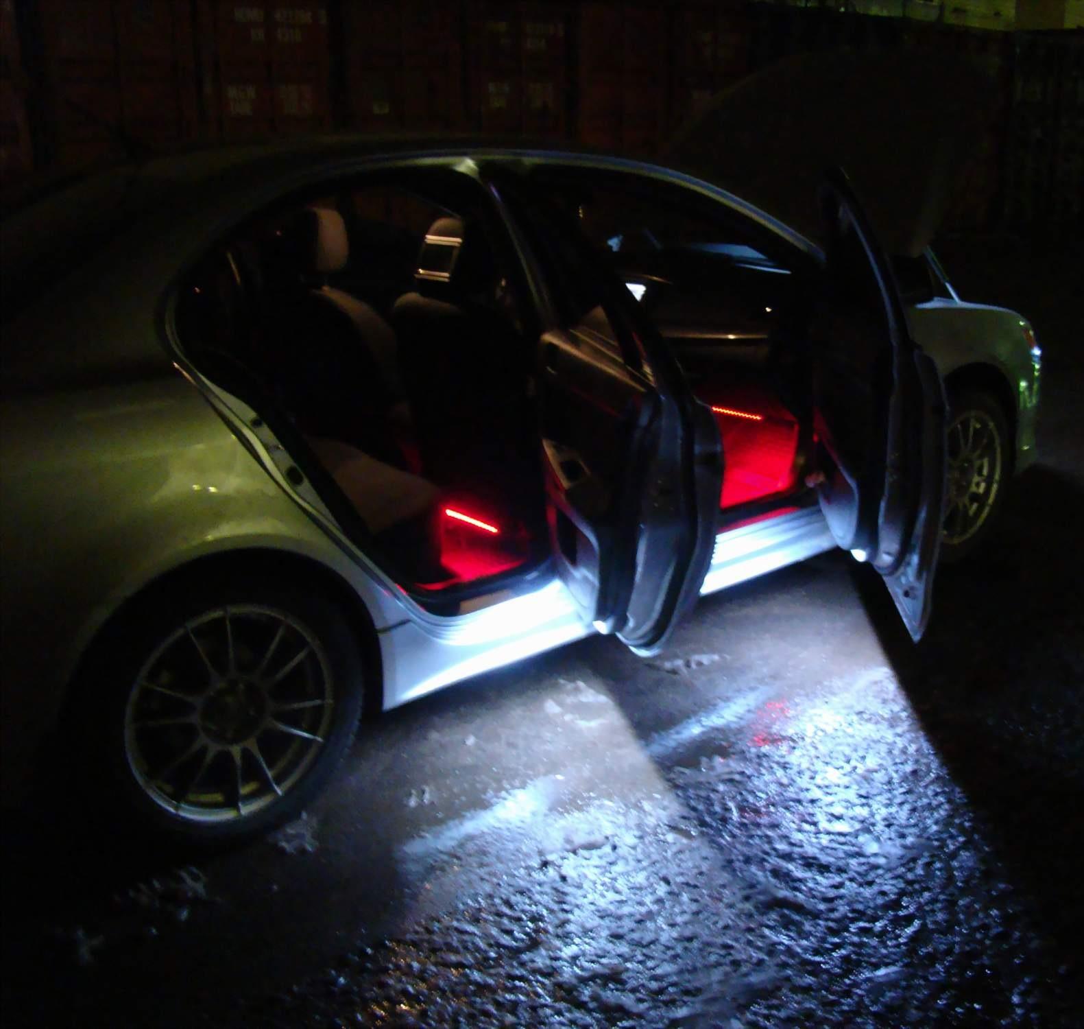Подсветка своими руками в машине