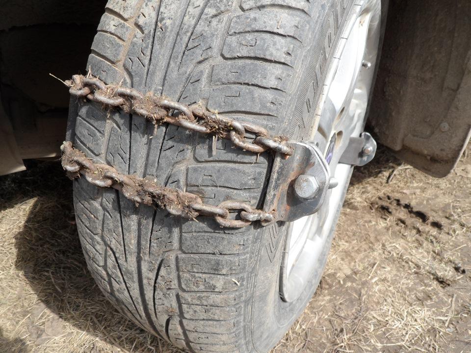 Самодельные цепи на колеса своими руками