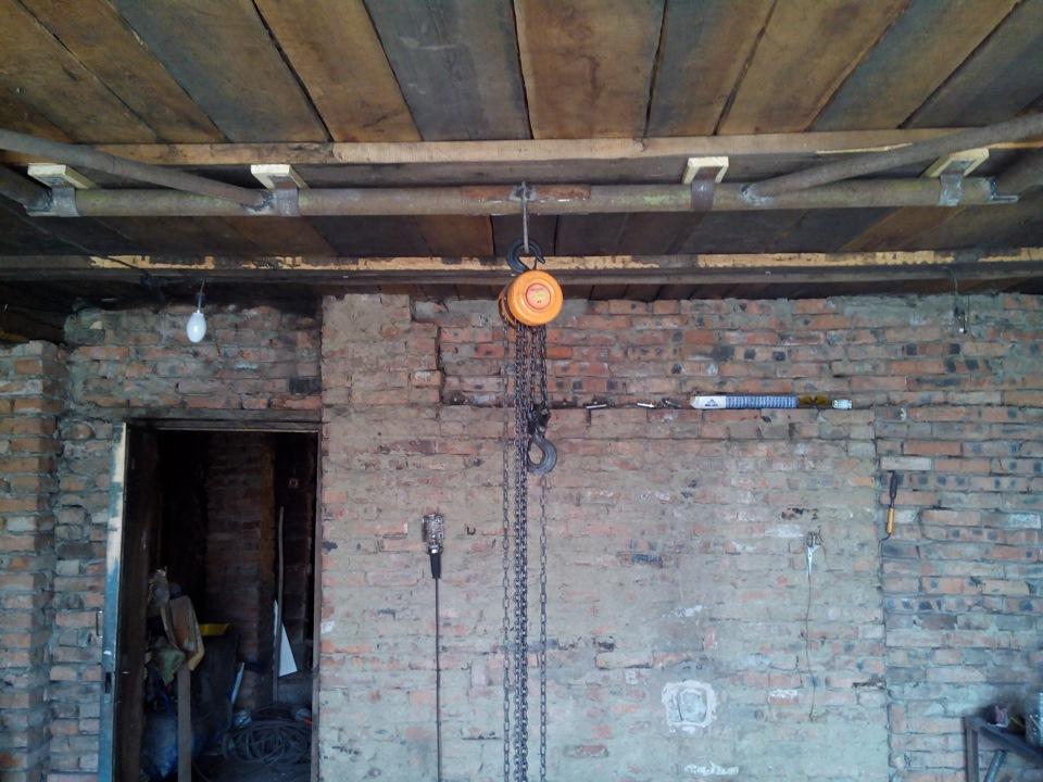 Кран-балка в гараж