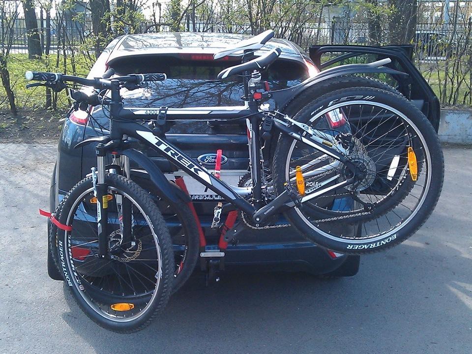 Велосипедное крепление на фаркоп