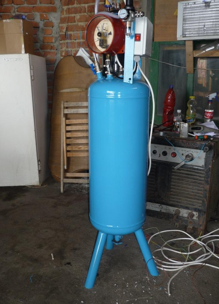 Как сделать газовый компрессор своими руками 275