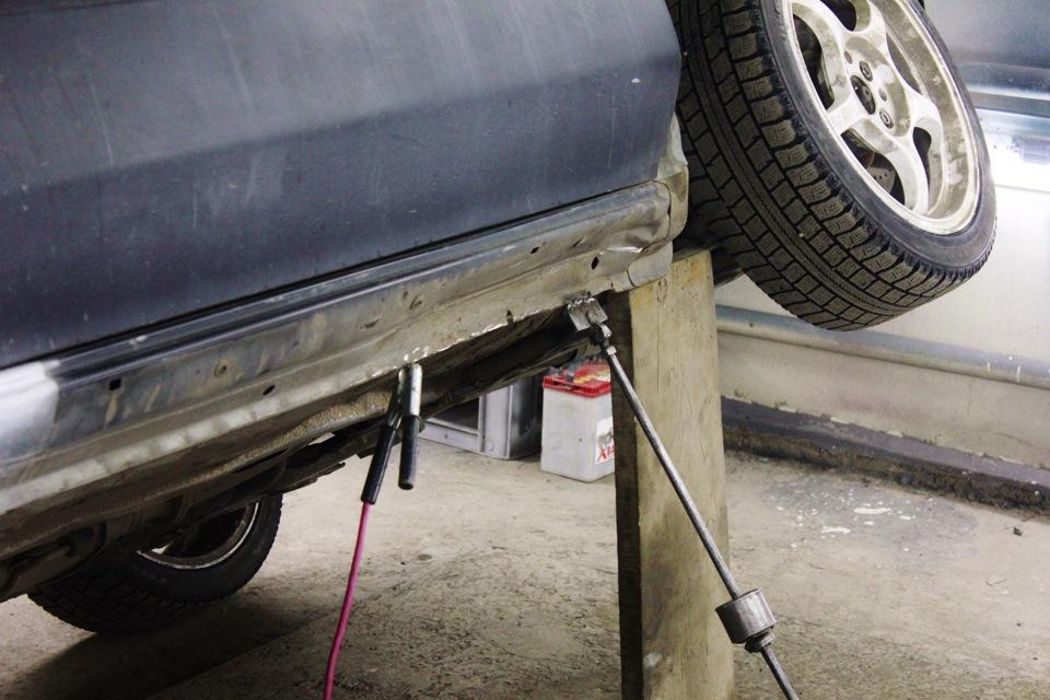 Ремонт порога автомобиля без сварки