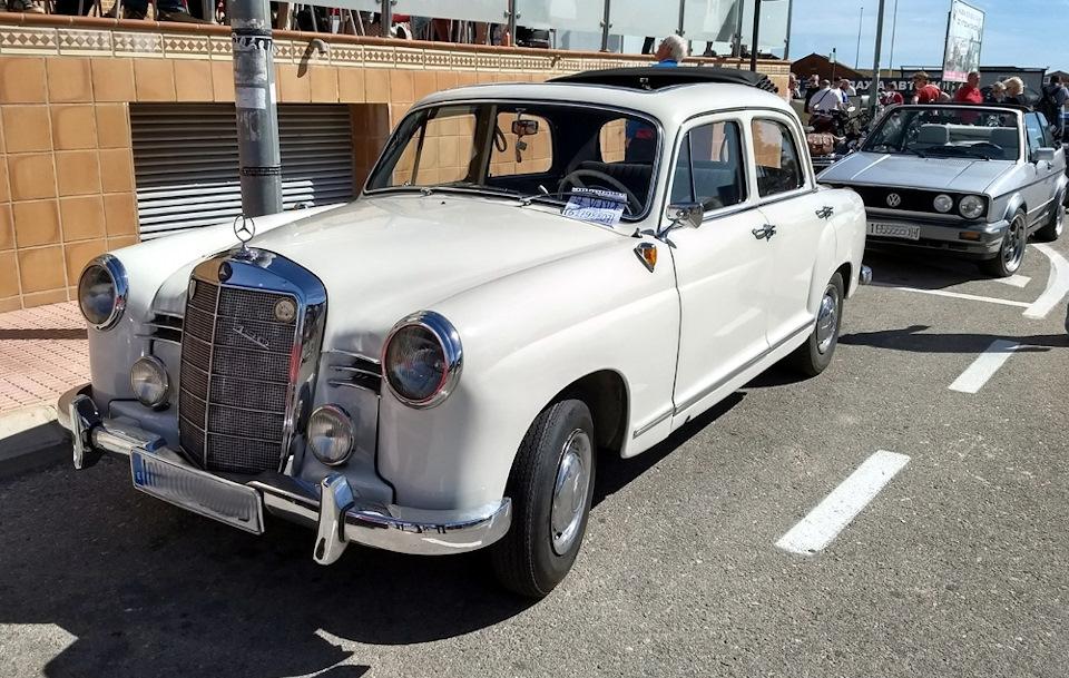 Mercedes Benz 190 (W121)
