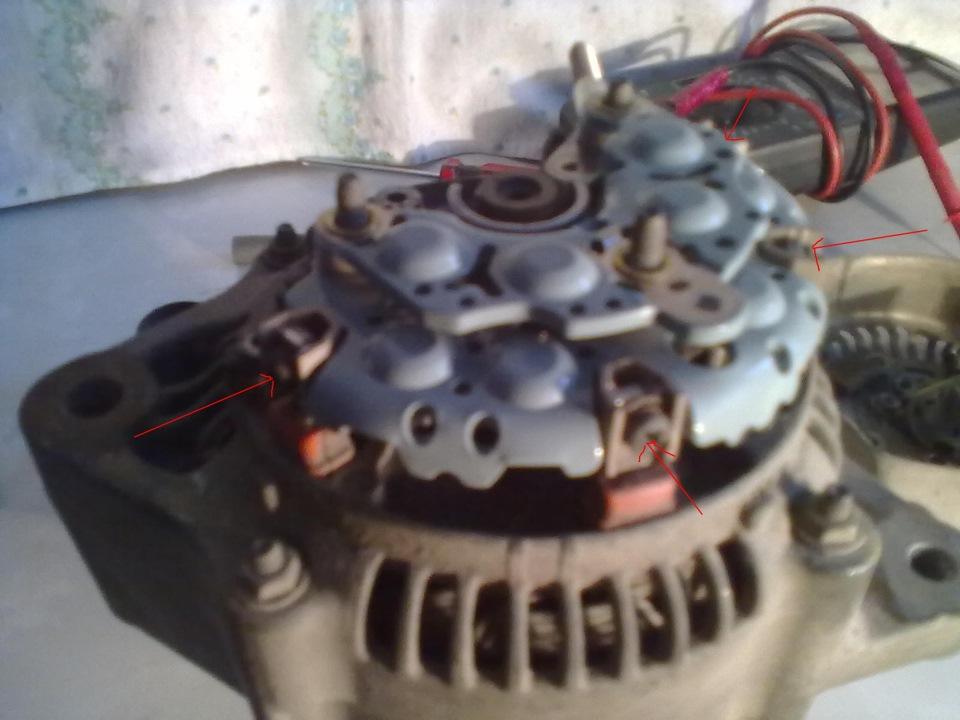 Ремонт генераторов своими руками тойота