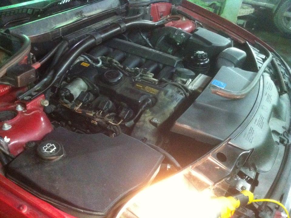 замена прокладки клапанной крышки BMW e60