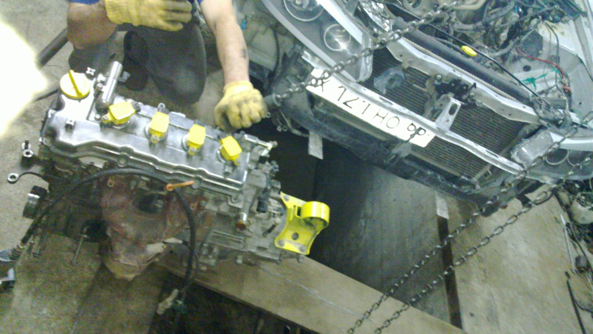 снятие двигателя ниссан альмера классик схема фото была одета