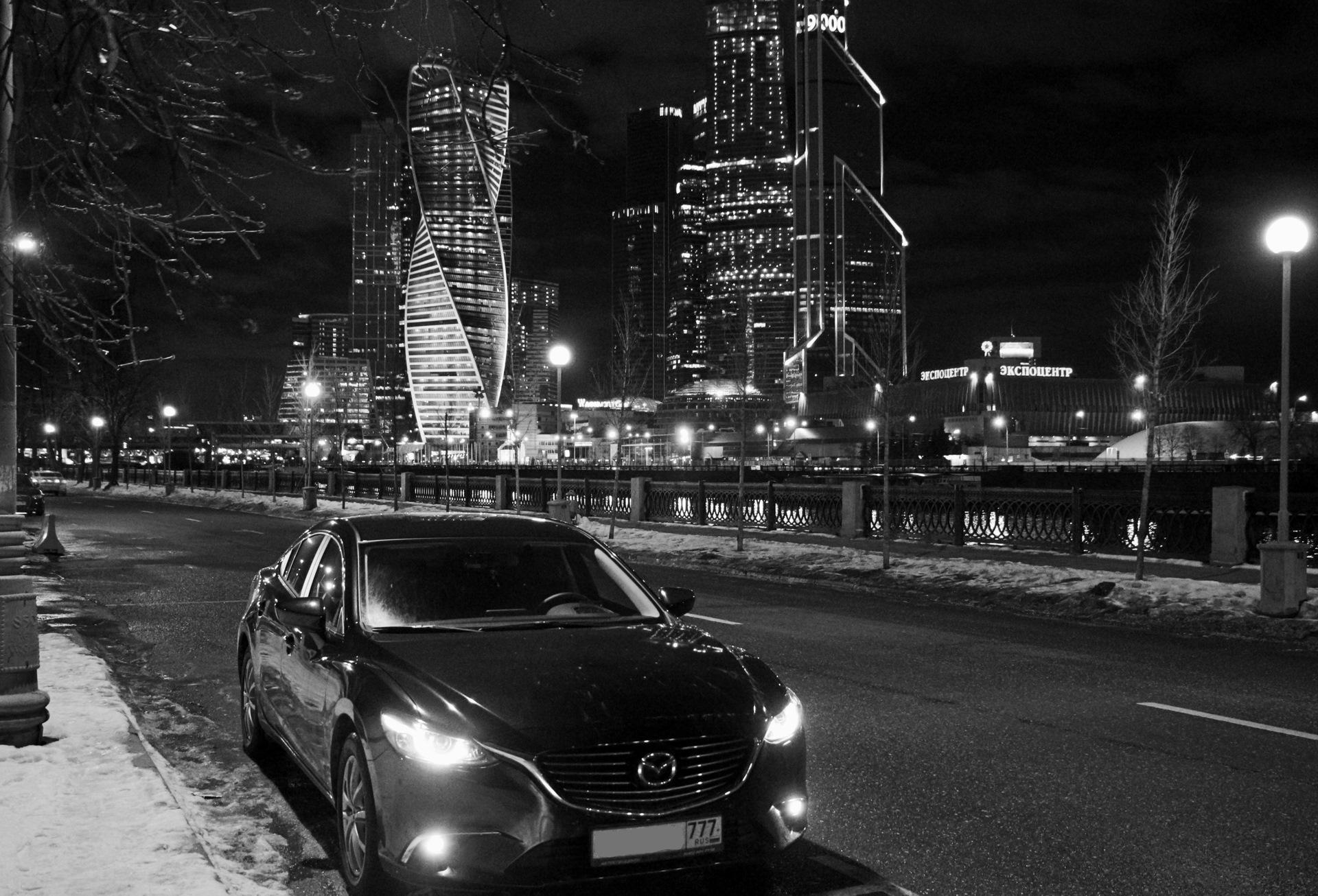 Ночная фотосессия в москве для авто