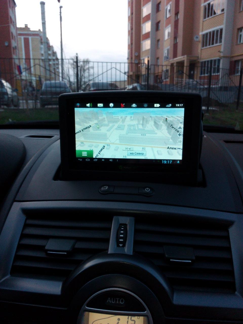 Выдвижной механизм для монитора в авто