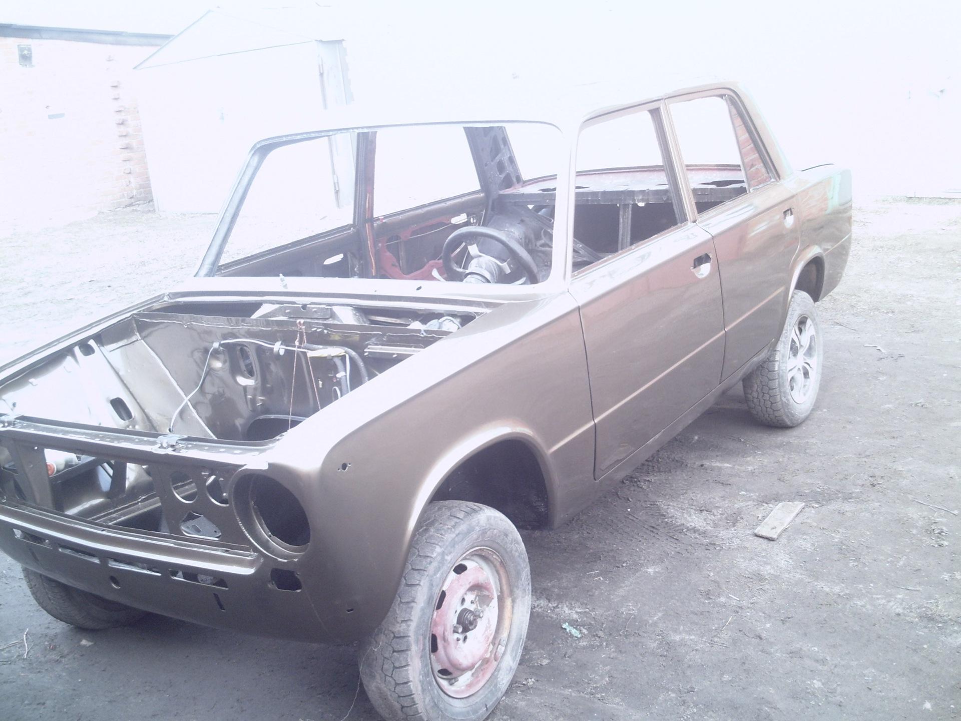 Фото №10 - кузовной ремонт своими руками ВАЗ 2110