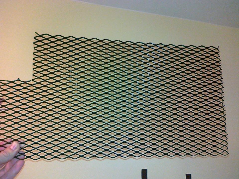 Как сделать решётку на радиатор 98