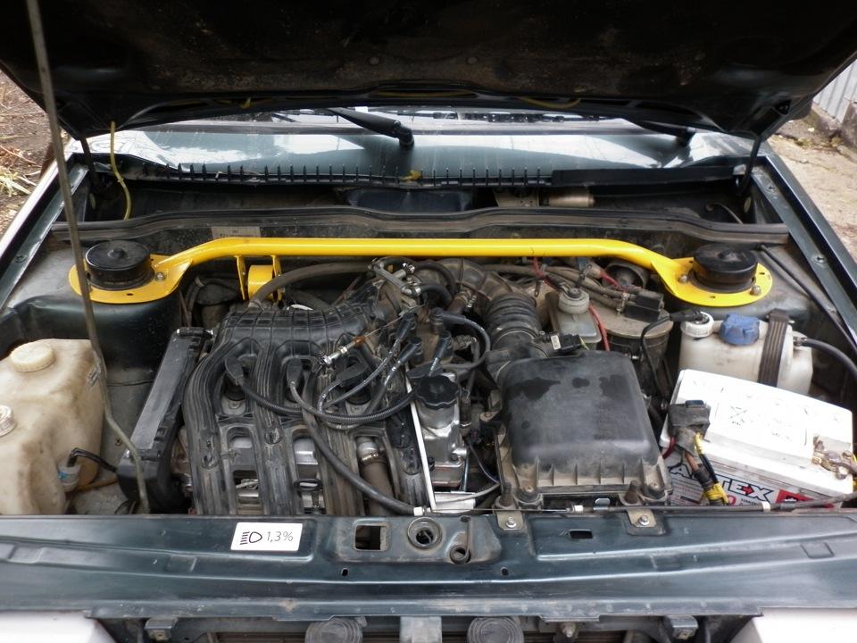 фото приора двигатель