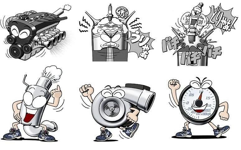 Картинки анимации, турбина прикольные картинки
