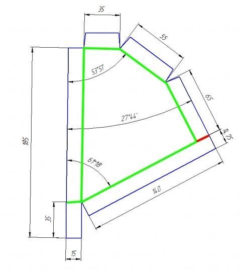Чертеж адаптер салонного фильтра на ваз 2109