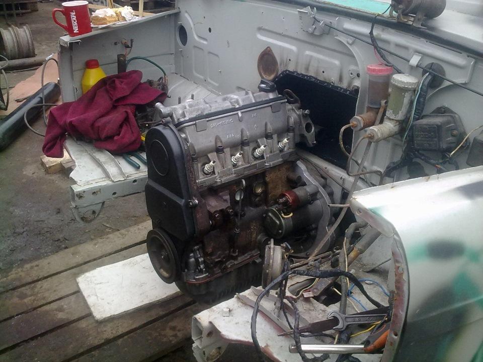 Двигатель с ваз на луаз