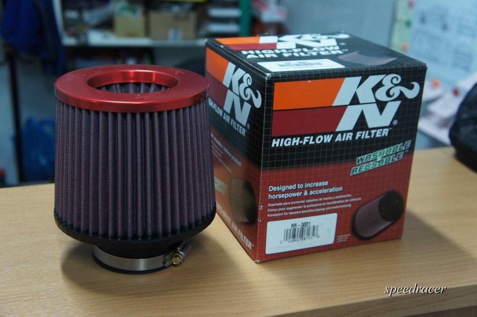 Фильтр нулевого сопротивления KN - фото 2