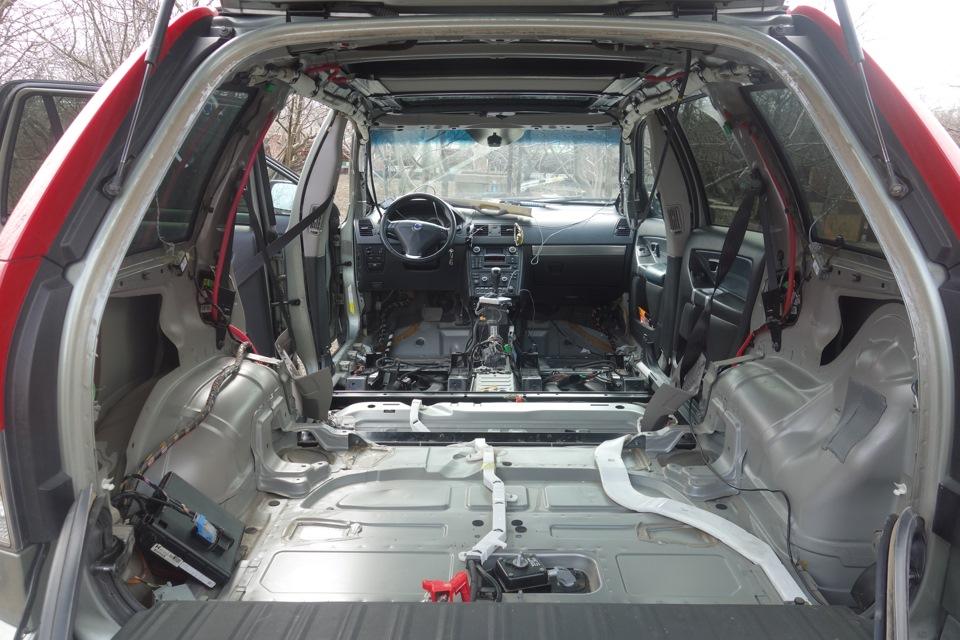 Шумоизоляция своими руками. - бортжурнал Volvo XC90 Атмосферный Швед 2007 года на DRIVE2