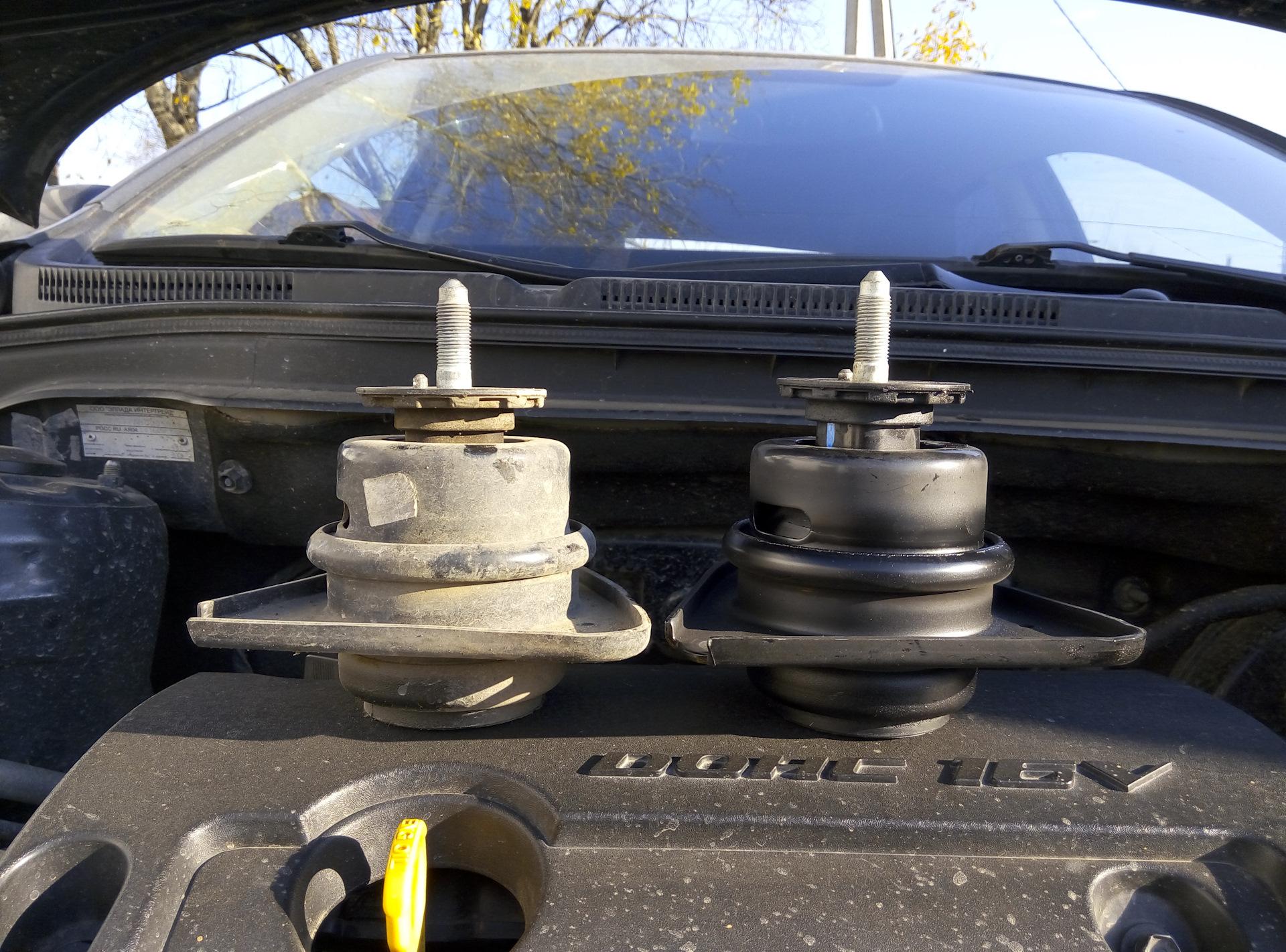 Замена опоры двигателя киа венга Замена рулевой рейки фрилендер