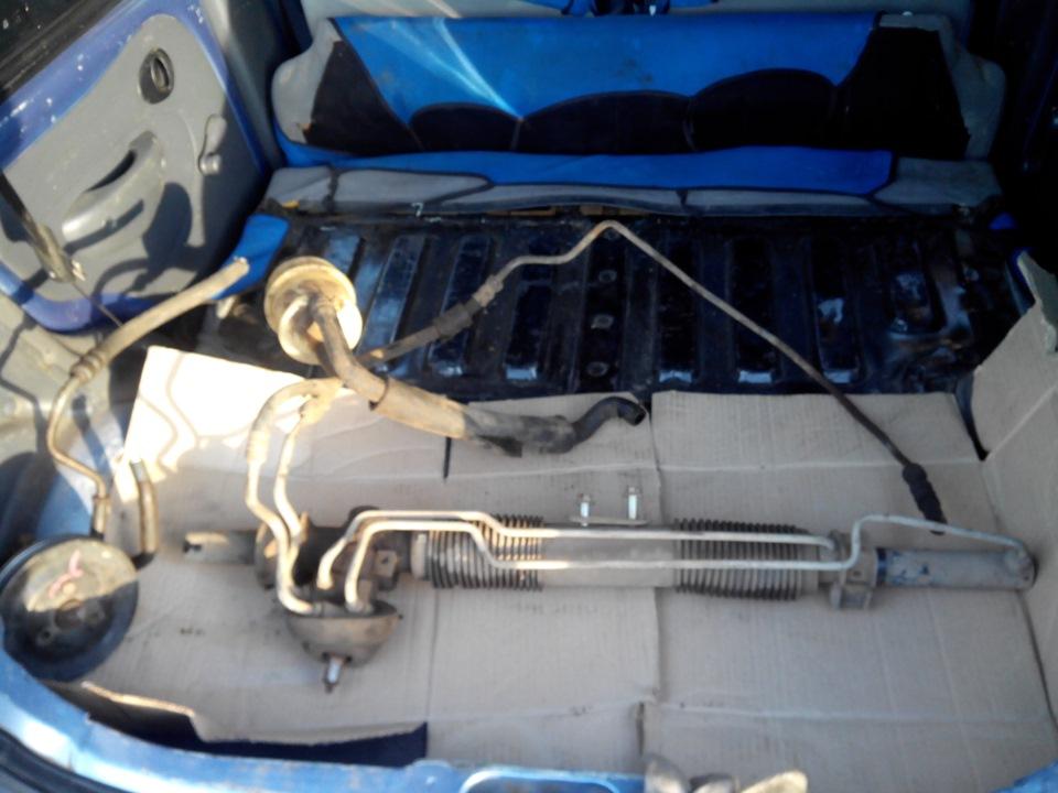 chevrolet lanos, 2007 инструкция установки кондиционера
