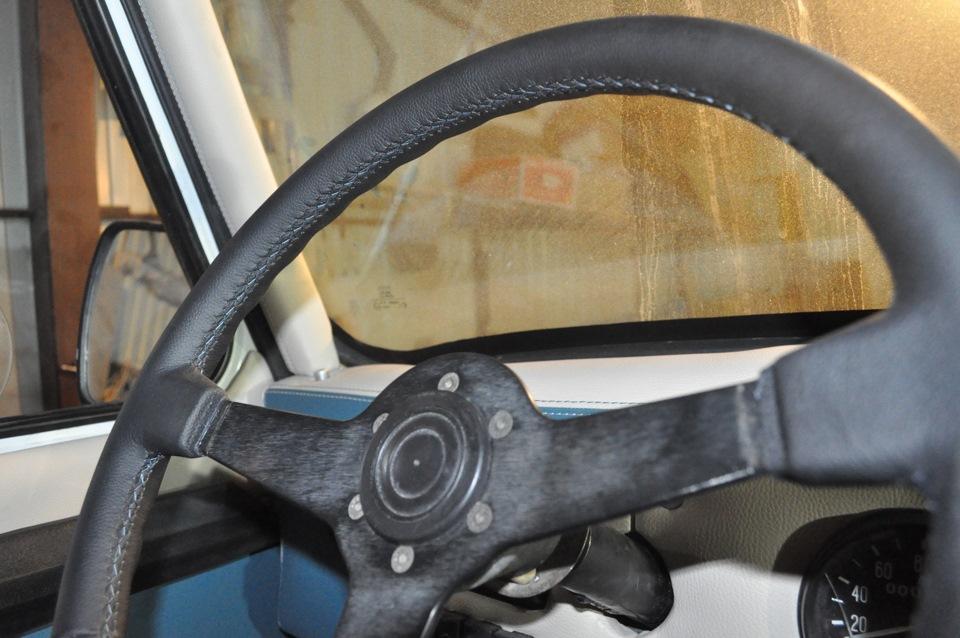 Кожа на руль для газели