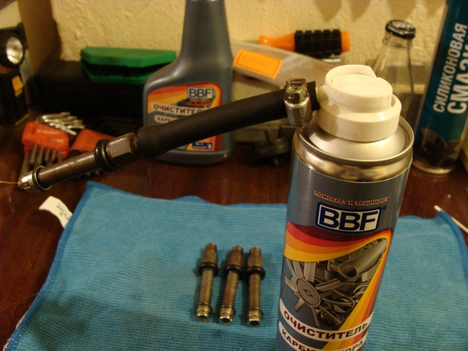 Как почистить механический инжектор своими руками