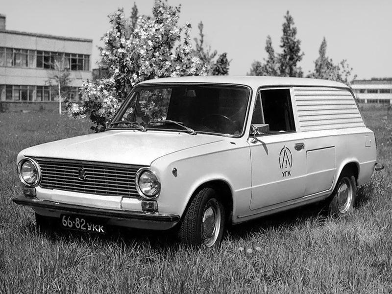 Один из ранних вариантов ВАЗ-2102Э