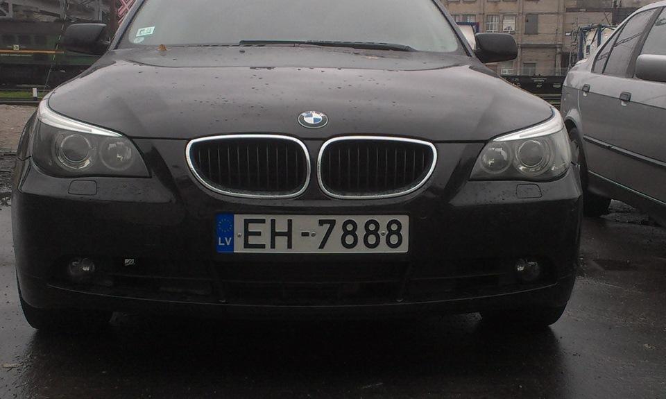 дорого обходится bmw 520 е60