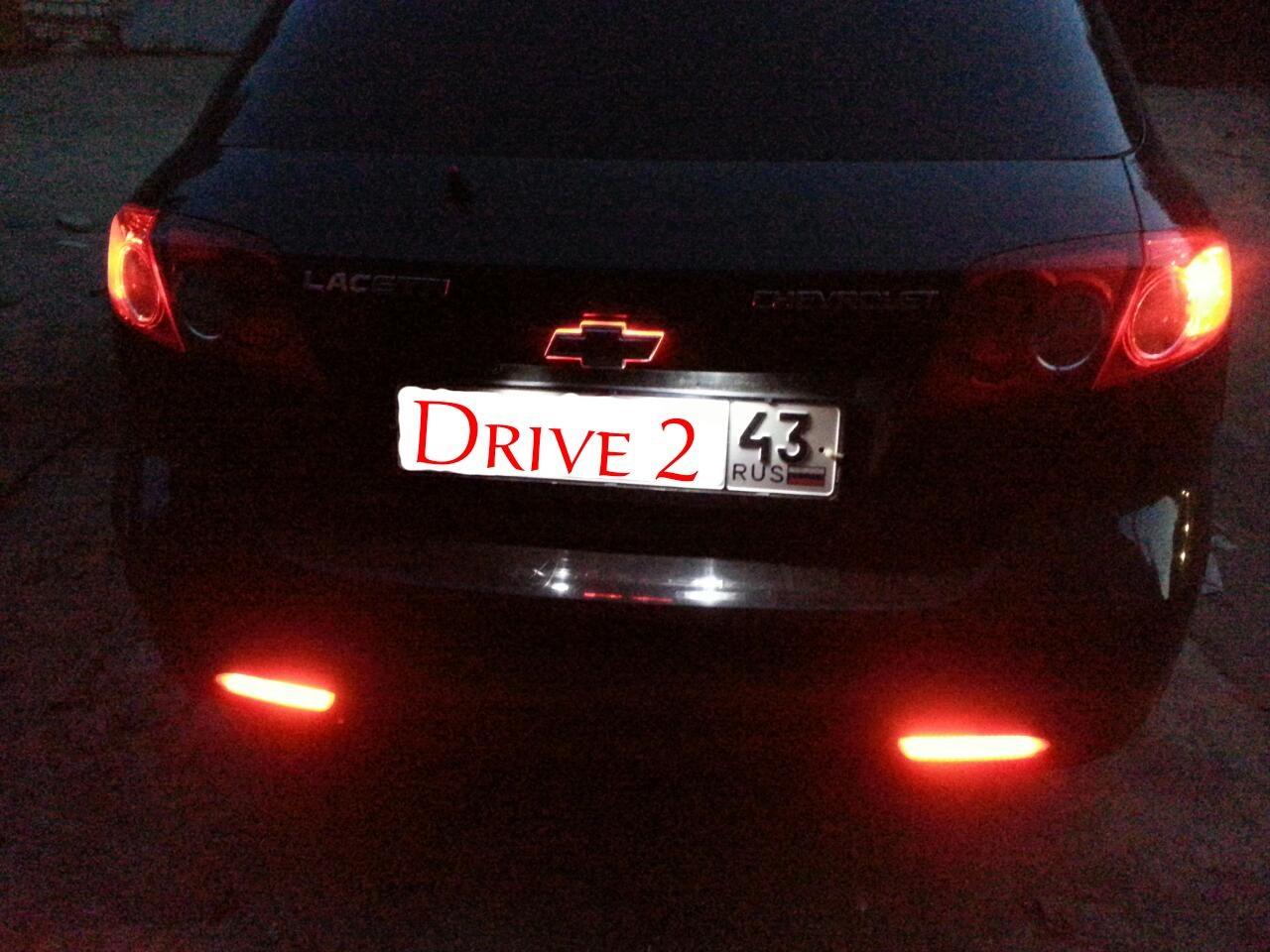 подсветка лого авто - chevrolet