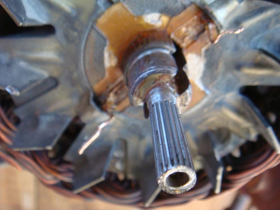 Фото №5 - замена токосъемных колец генератора ВАЗ 2110