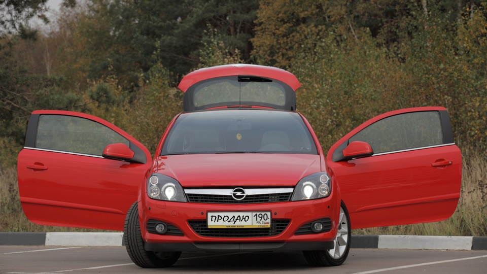 Opel Astra Gtc Drive2