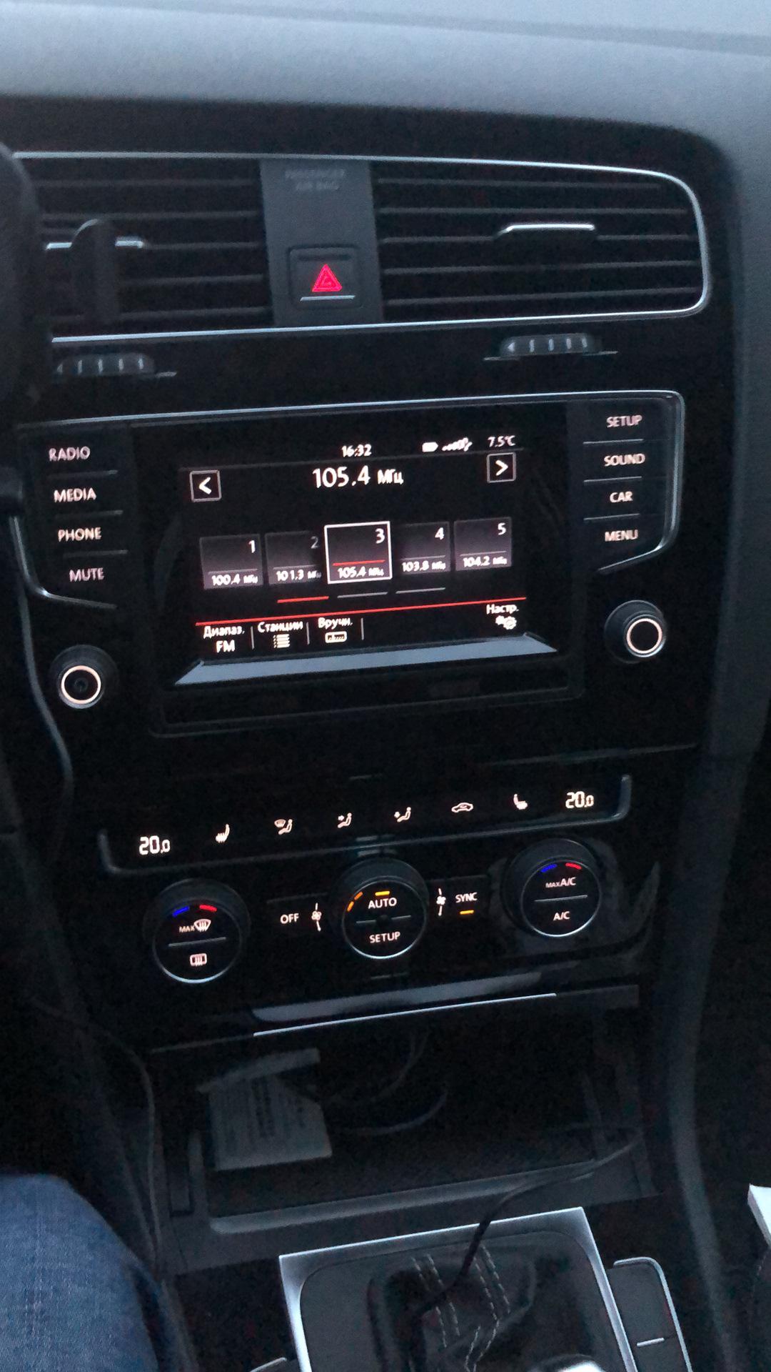 Discover media MIB2 и Apple CarPlay — Volkswagen Golf, 1 4 л
