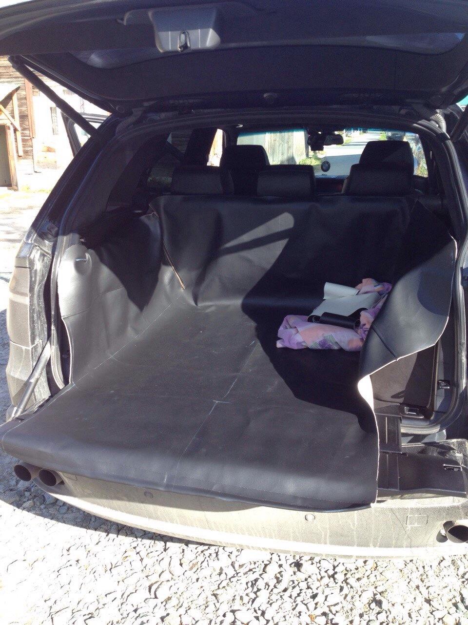 Выкройка чехла в багажник