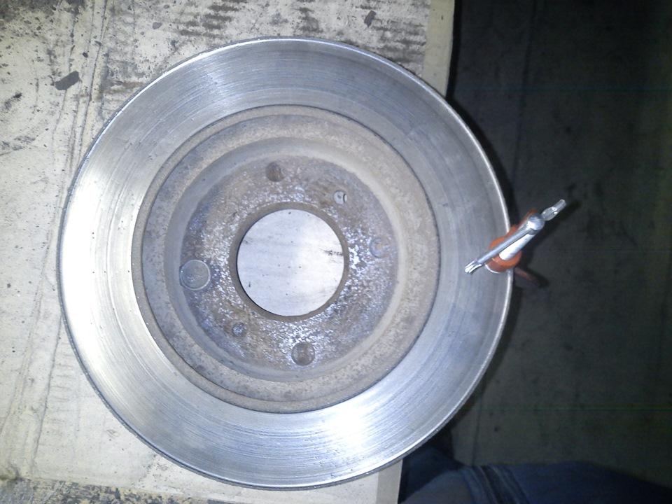 смазка суппорта дискового тормоза nissan wingroad