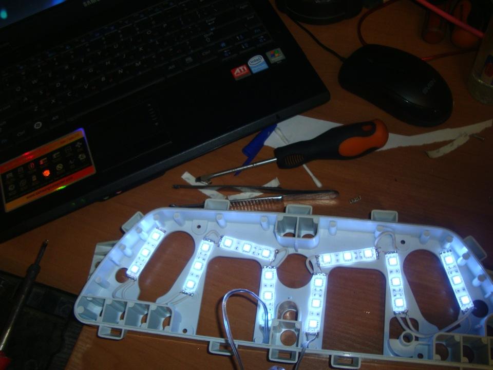 Светодиоды для панели приборов своими руками 13