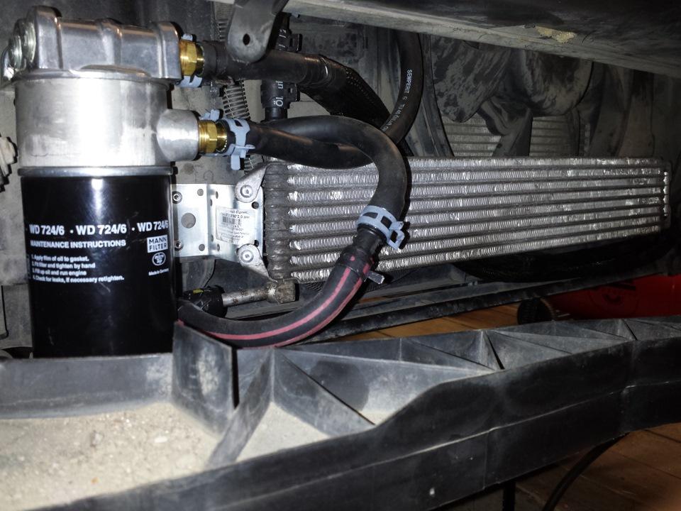 Golf 4 где расположен теплообменник радиатор акпп DM3-516-3