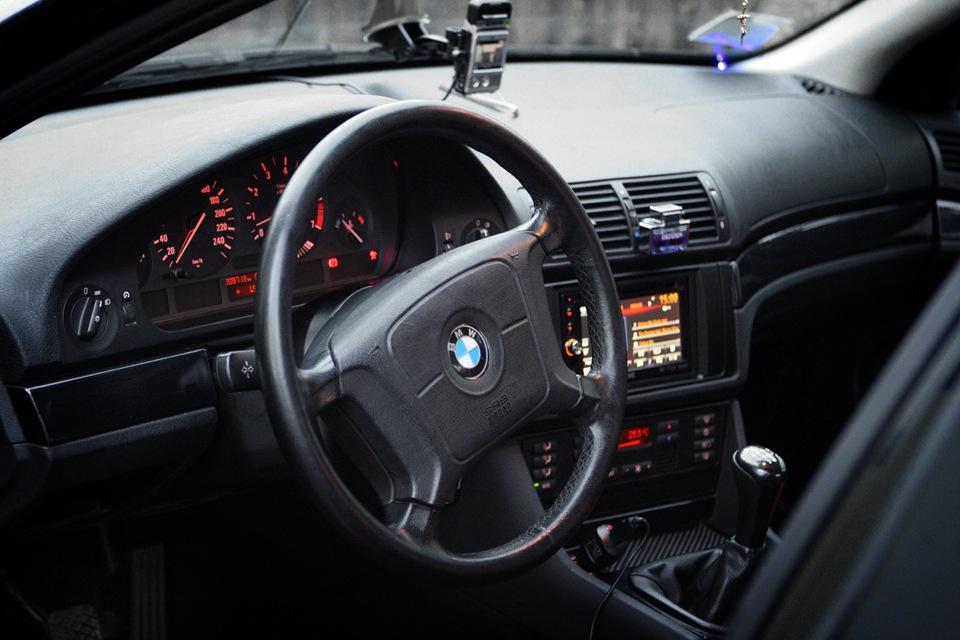 флешка в штатную магнитолу BMW e39