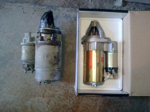 Установка редукторного стартера ГАЗ/УАЗ с двигателем ЗМЗ-402.