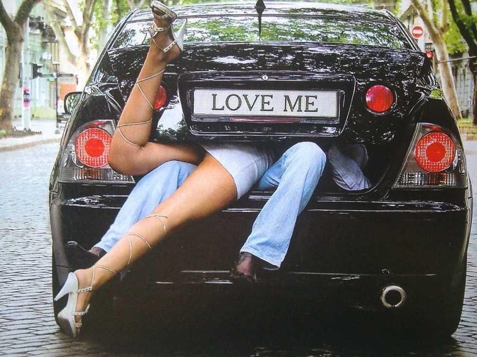 Замяться сексом в авто