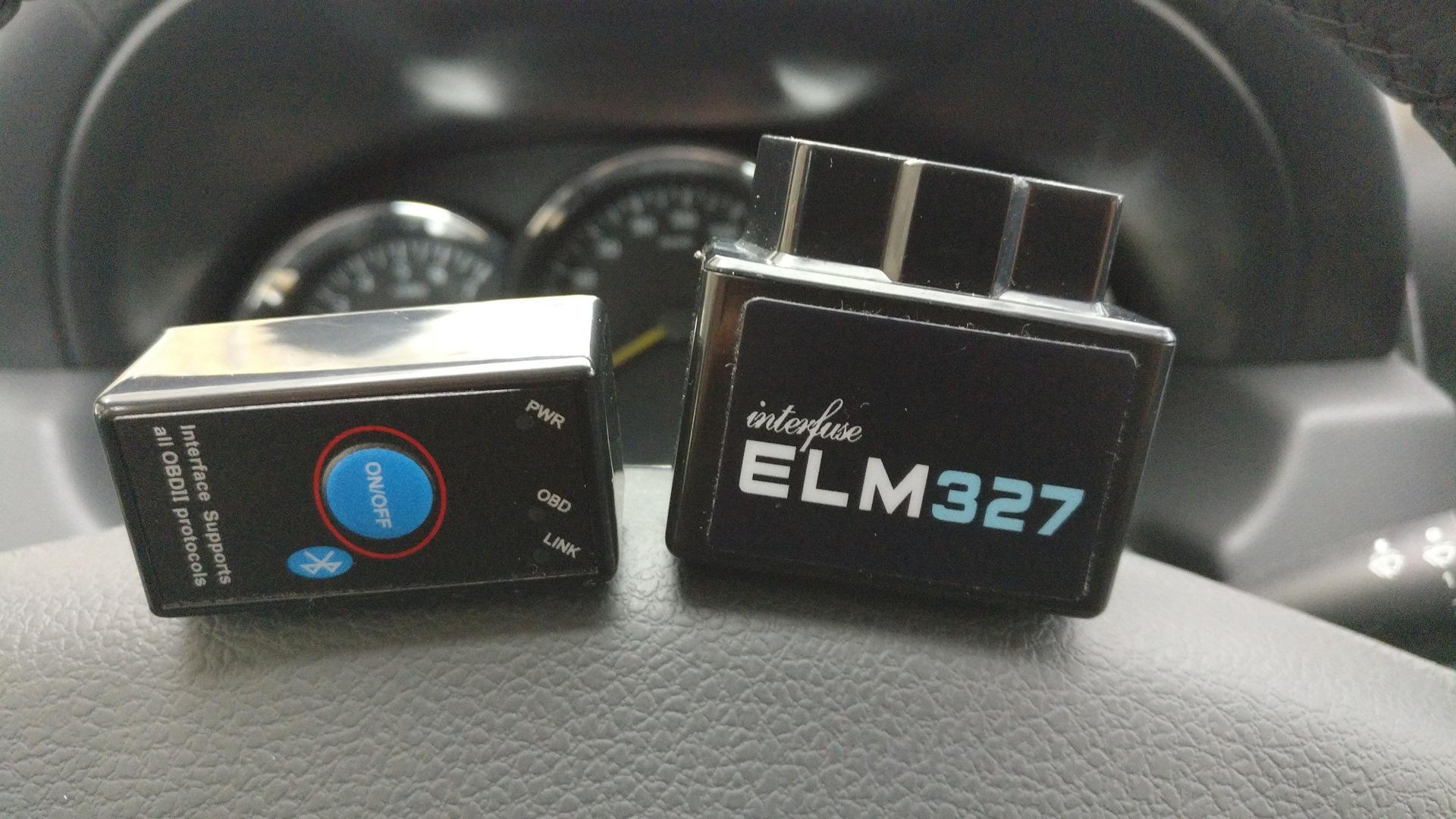 удаление ошибок renault symbol с помощью elm327