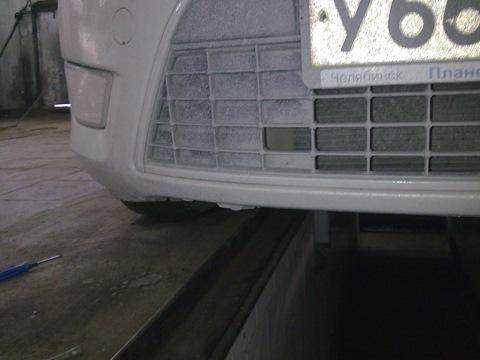Снятие юбки бампера форд фокус 2