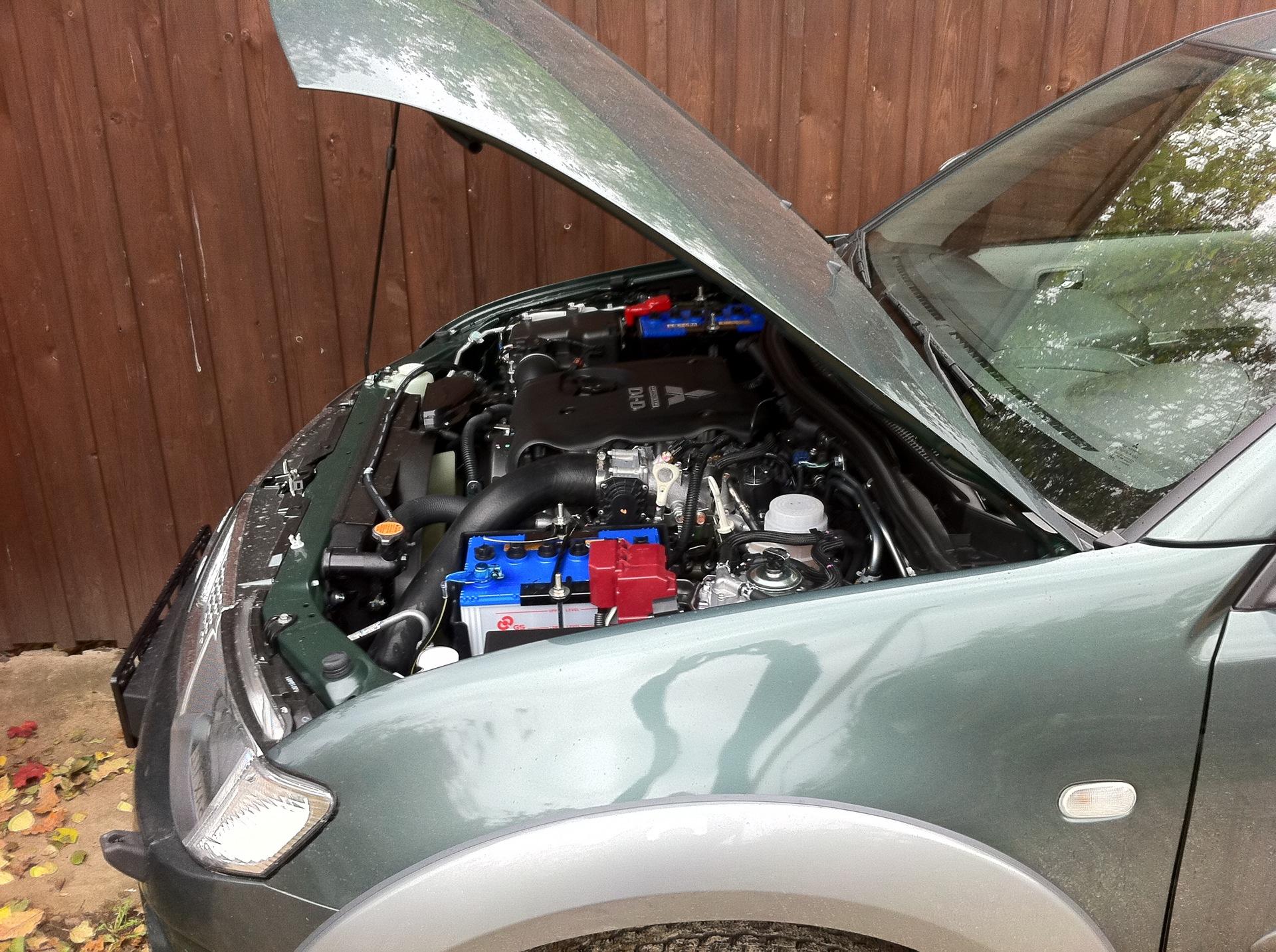 схема охлаждения двигателя мицубиси л-200