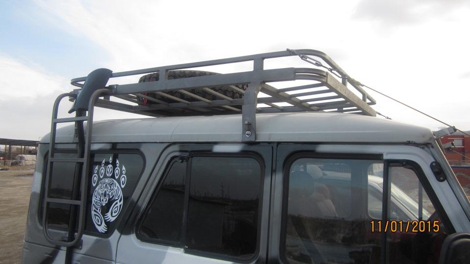 Багажник на крышу уаз 469 своими руками 76