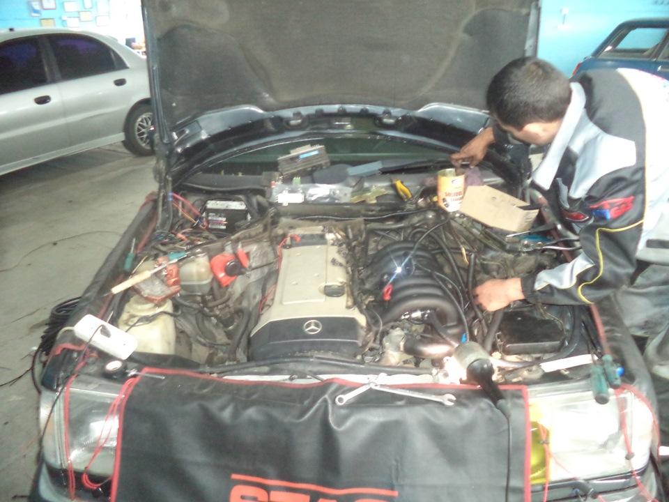 104 мотор мерседес как уменьшить расход топлива