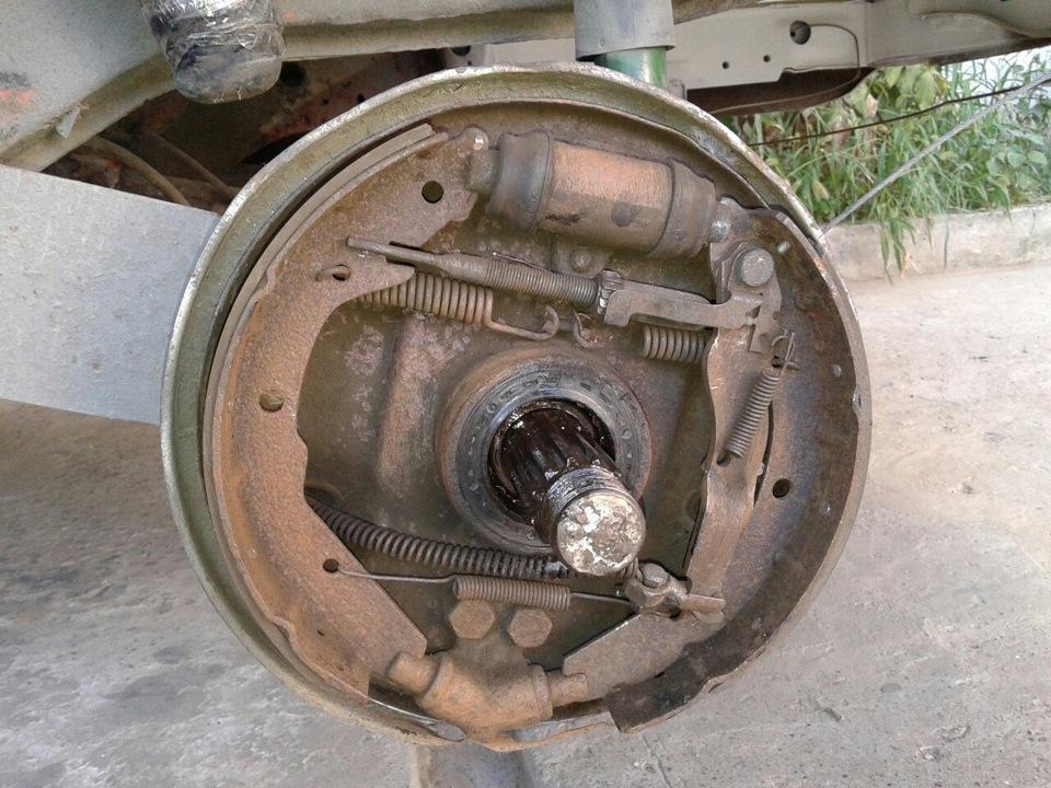 Задние тормозные колодки транспортер т3 для шитья верхний транспортер