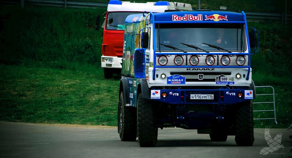 Ну и какое автошоу в Татарстане может обойтись без знаменитой команды КамаАЗ-мастер?!