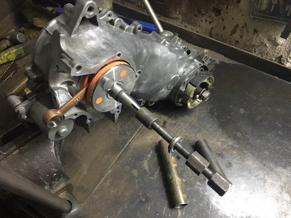 двигатель honda dio 35 замена подшипников коленвала