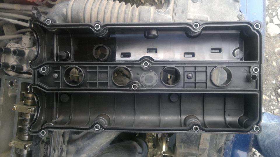 Замена прокладки клапанной крышки форд фьюжен 1.6