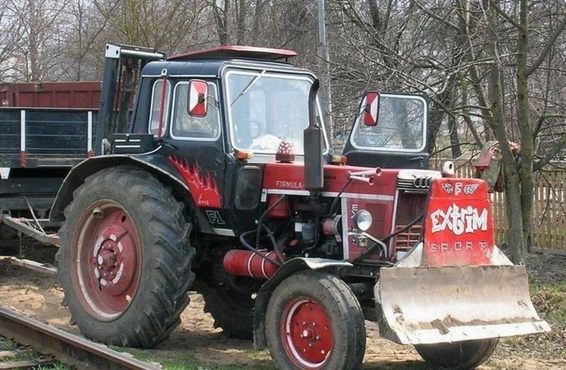 бижутерия тюнинг колхозного трактора кировца фото разнообразные