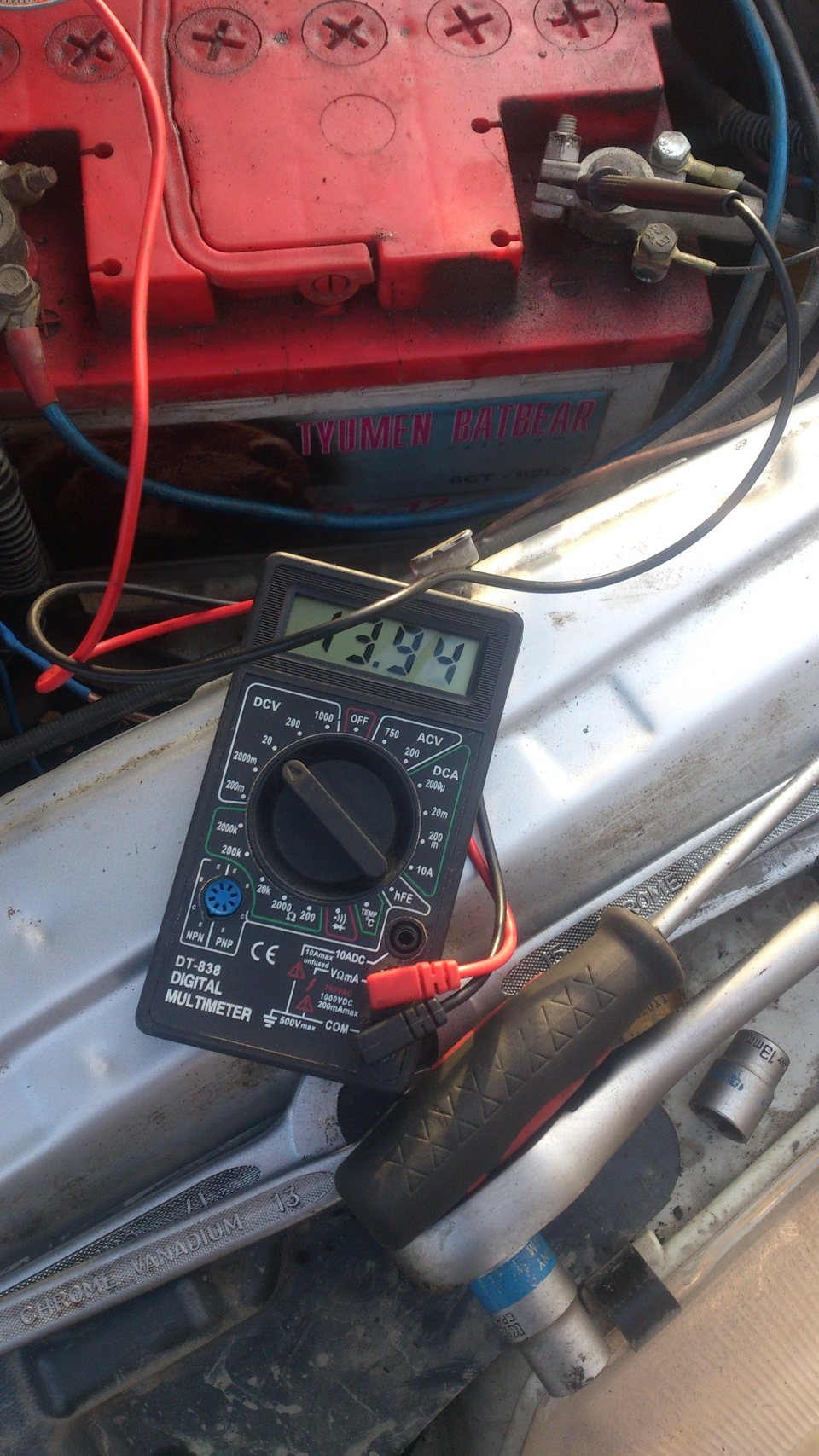 Фото №24 - ВАЗ 2110 реле генератора