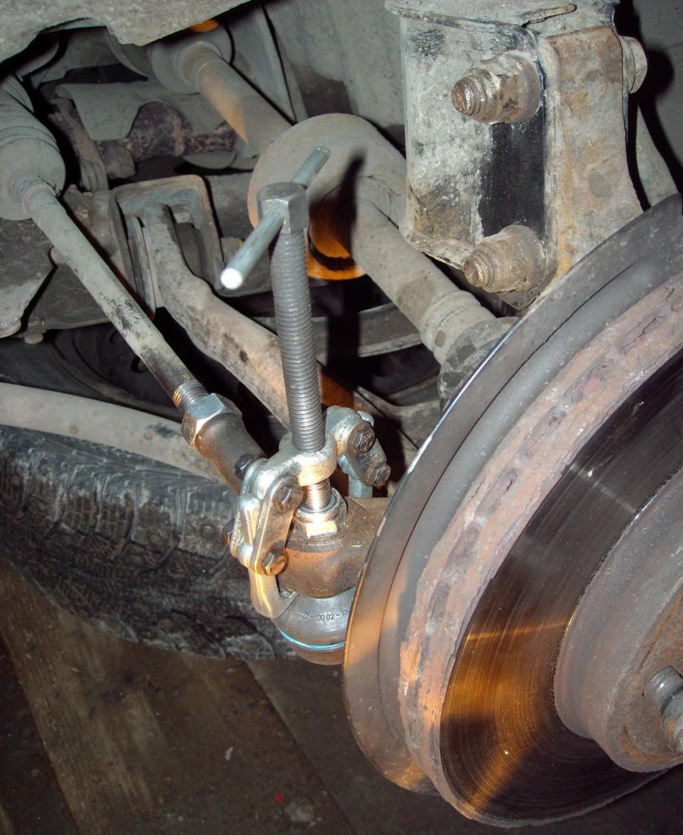renault symbol рулевые тяги и наконечники