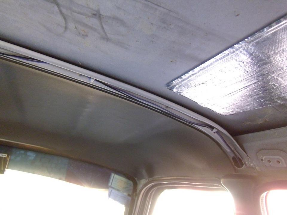 960 - Шумоизоляция своими руками газ 3110